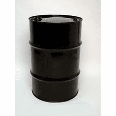 30 Gal  Closed-Top Steel Drum-Black-EPOXY-PHENOLIC LINING