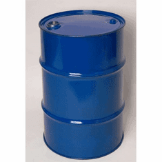 30 Gal Closed-Top Steel Drum-Black-Rust Inhibitor Lining