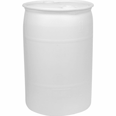 30 Gallon NEW Water Storage Barrel | FDA Approved Material | Blue or White