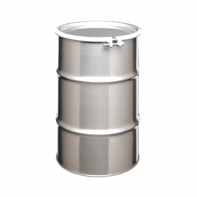 30 Gallon Open Head Stainless Steel Drums