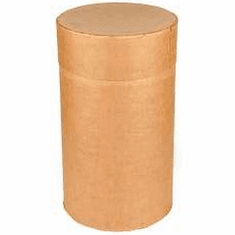 30 Gallon Round All-Fiber Cardboard Drums