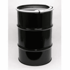 30 Gallon Standard Open Head Steel Drums  Epoxy-Phenolic Bolt Ring