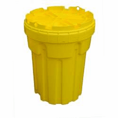 30 Gallon Ultratech Plastic Salvage Drums