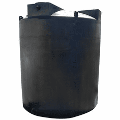 "3000 Gallon Plastic Water Storage Tank|Long-Term Water Storage|  Dimensions: 96"" Diameter x 109"" Height"