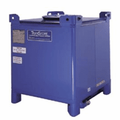 350 Gallon Stainless Steel TranStore Advanced Technology Metal IBC