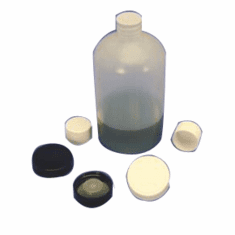 43mm Specialty Caps,Black, Chemical Resistant Phenolic,1,000