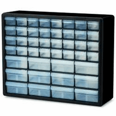 44 Drawer Plastic Storage Cabinets