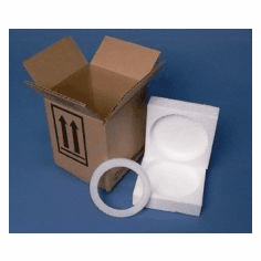 4G Packaging Corrugated Cardboard System with Foam for 1-1 Quart Paint Cans