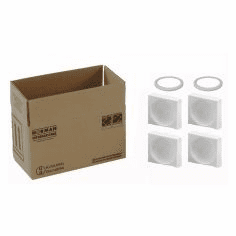4G Packaging System with Foam for 2-1 Quart Paint Cans