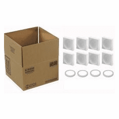 4G Packaging System with Foam for 4-1 Quart Paint Cans