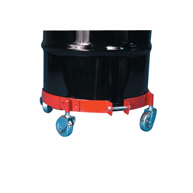 5-7 Gallon Adjustable Pail and Drum Dolly, Phenolic Casters