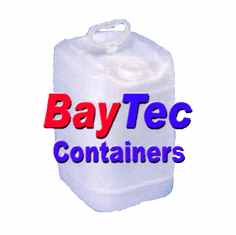 5 GAL SQUARE PLASTIC JUG-WHITE or Blue