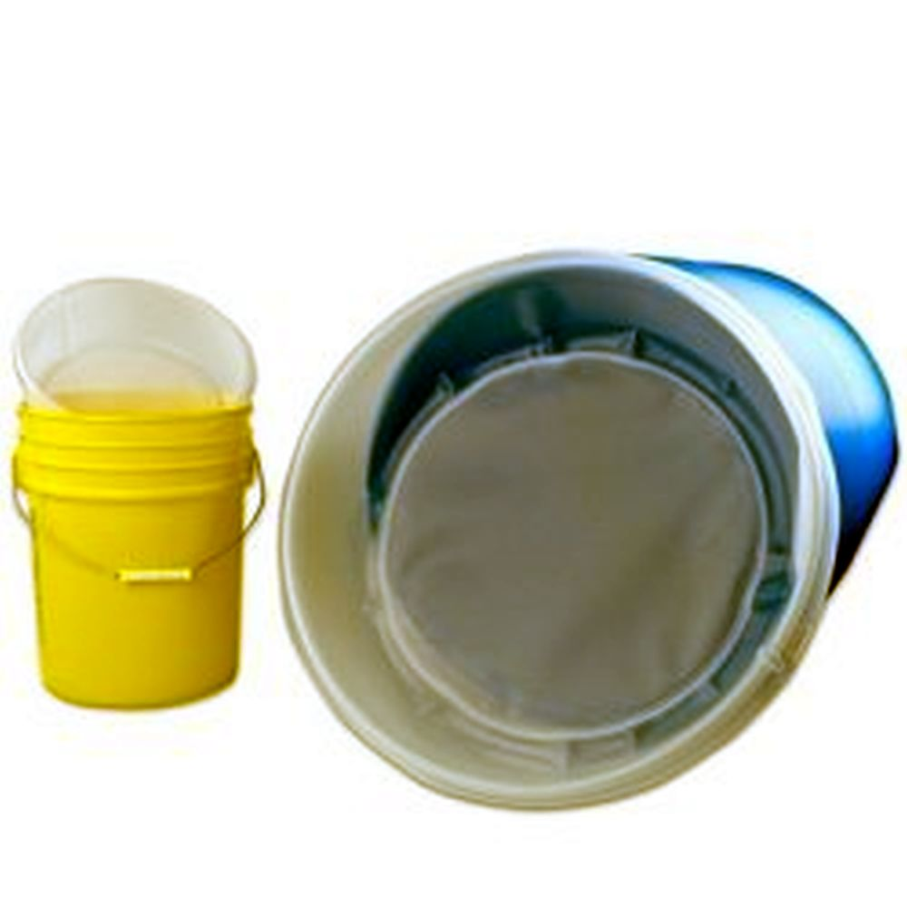 5 Gallon 200 Micron Ez Strainer Insert For Pails Buckets