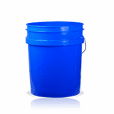 5 Gallon Blue Plastic Bucket, 3-pack