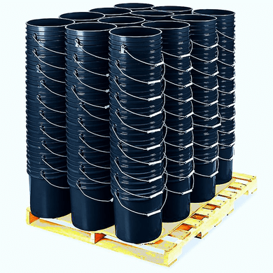 5 Gallon Bucket Bulk ,Black, Pallet of 120