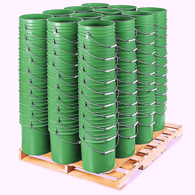 5 Gallon Bucket Bulk ,Green, Pallet of 120