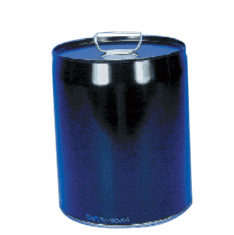 5 Gallon Epoxy Phenolic Lined, Tight-Head Steel Pails & Cans, Black