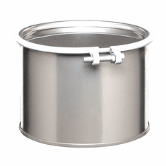 5 Gallon Open Head Stainless Steel Drums