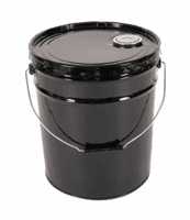 5 Gallon Open-Head Steel Pails & Bucket Cans and Covers Low As $8.95