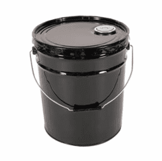 5 gallon pail with lever lock ring/cover,Rust-Inhibitor