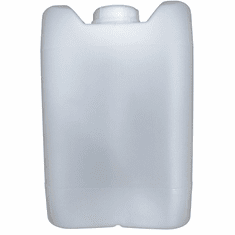"5 Gallon Plastic Jug Closed-Head with 70mm Cap | Natural Color | <br/><font color=""red"">Free Ship</font>"