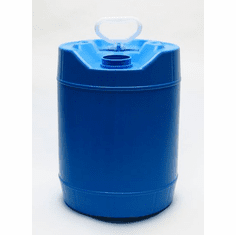 5 Gallon Round FLEXSPOUT Jug, Blue, FDA and USDA compliant, Caps Include with Jugs