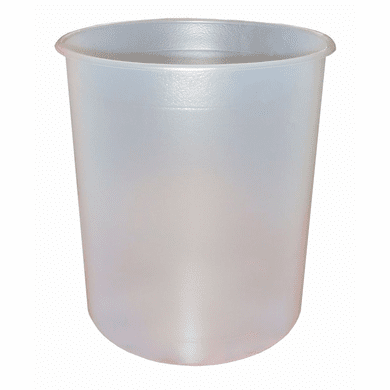 5 Gallon Steel Bucket Liners, Straight-Sided, 15 Mil LDPE -100 Pack