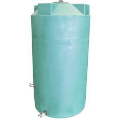 "500 Gallon  Emergency Water Storage Tank | Plastic Water Storage Storage |  Dimensions: 48"" Diameter x 71"" Height"