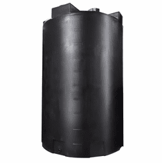 "5000 Gallon Plastic Rain Water Storage Tank | Rainwater Harvesting | Tall |  Dimensions: 102"" Diameter x 158"" Height"