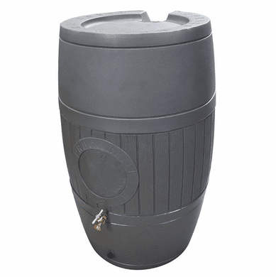 "54 Gallon Rain Saver Water Barrel, <Font color=""red""> Free Shipping!</font>"