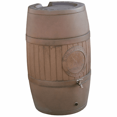 "54 Gallon Wood look Rain Water Barrel<strong><font color=""#FF0000""> Free Shipping</font></strong>"
