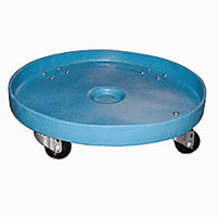 55 Gal Plastic Drum Dolly Super Heavy Duty DISCONTINUED