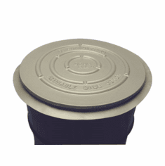 55 Gallon Drum or Barrel Cover | Open-Head, Non-UN | Premium Reusable Barrel Covers