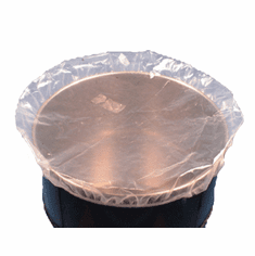 55 Gallon, Food Grade, Clear, 4 mil - Shower Cap Drum Covers