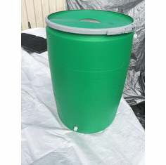 55 Gallon Green Rain Barrel<br>SOLD OUT