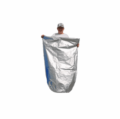 55 Gallon Mylar Plastic Bag - Heat Sealable