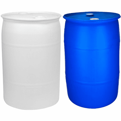 55 Gallon NEW Water Barrel | Food Grade Material | Blue Or White