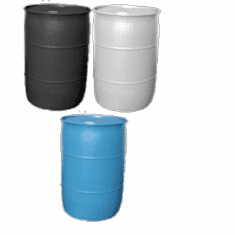 55 Gallon Plastic Barrel-NEW Free Shipping