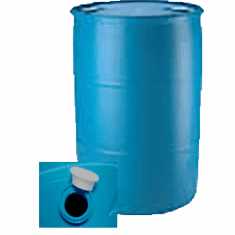 "55 Gallon  Plastic Drums  Reconditioned<br><font color=""#008000"" face=""Rockwell Bold"" >Free Shipping</font>"