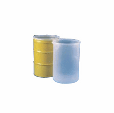 55 Gallon Pleated Side - Seamless Drum Liners Pleated Style 20 Pack