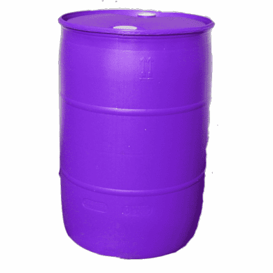 55 Gallon Purple Barrel, Tight Head, Free Shipping Discontinued