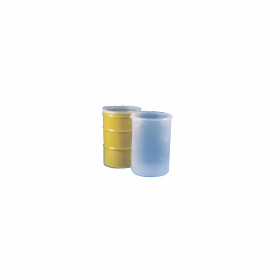 55 Gallon Slightly Pleated - Seamless Drum Liners 28 Pack