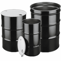 55 Gallon Steel Drums & Metal Barrels | Closed Head