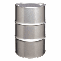 55 Gallon Tight Head Stainless Steel Drums