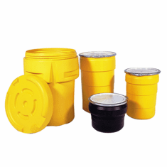 55 Gallon Ultratech Plastic Salvage Drums-Discontinued