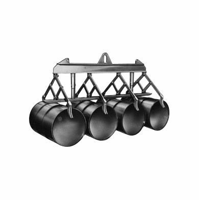 6 Drum - Automatic Lifter For Horizontal Drums