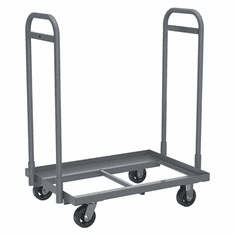 6 or 4 Bin Cart Super-Size AkroBin®, Holds Bin (6) 830292 or (4) 830293, 900 lb Capacity
