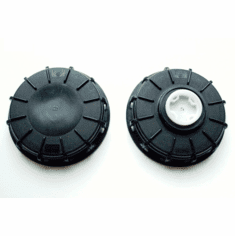 "6"" Polypropylene Fill Caps for IBC's and Tote's"