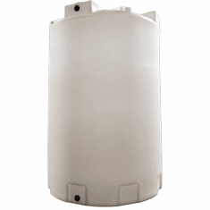 "6500 Gallon Plastic Water Storage Tank|Long-Term Water Storage|Dimensions: 102"" Diameter x 152"" Height"