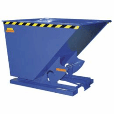 70 Degree Self-Dumping Steel Hoppers